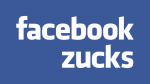 Facebook Zucks (Blue)